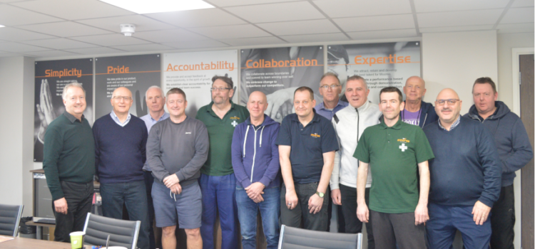 Moores holds celebratory lunch for employees with over 30 years of service
