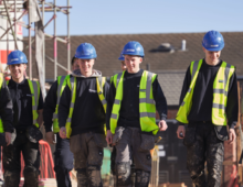 Bloor Homes Apprentices tackle construction industry skills shortages