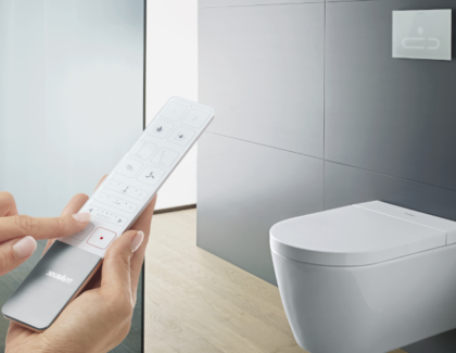 New SensoWash Starck f from Duravit incorporates design and comfort