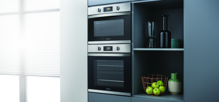 Save time in the kitchen with built-in cooking appliances from Indesit