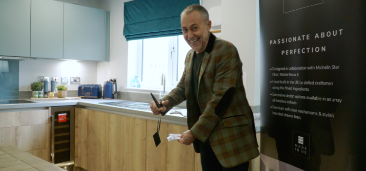 Michel Roux Jr. opens first Moores Roux Kitchen show home in Scotland