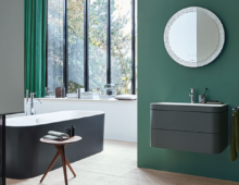 Duravit presents two new custom washing-area variants