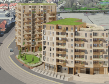 Yelo Architects share new images of £60m Hove housing development