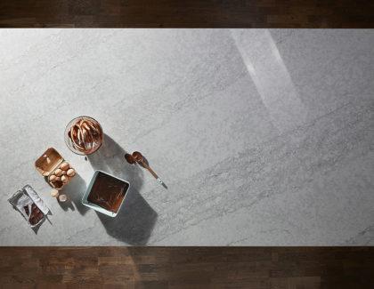 Complement your kitchen with Saint Moritz in Quartz