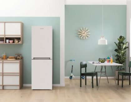 Indesit launches compact fridge freezer