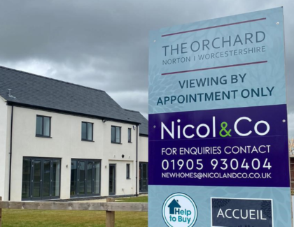 Nicol & Co provide luxury development of 20 homes on village farm site