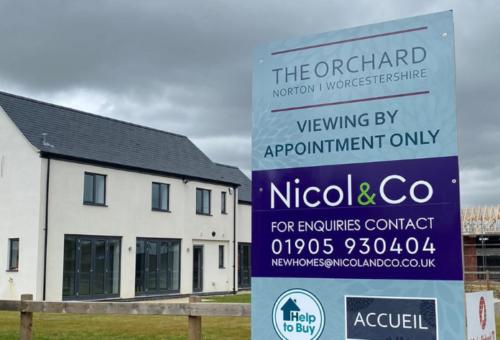 Nicol & Co provide luxury development of 20 homes on village farm site