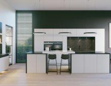 Keller's Black Marble kitchen scheme