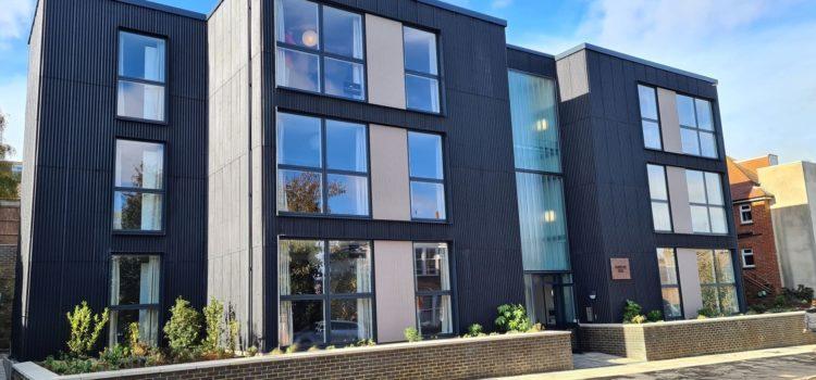 New council homes raise sustainability bar
