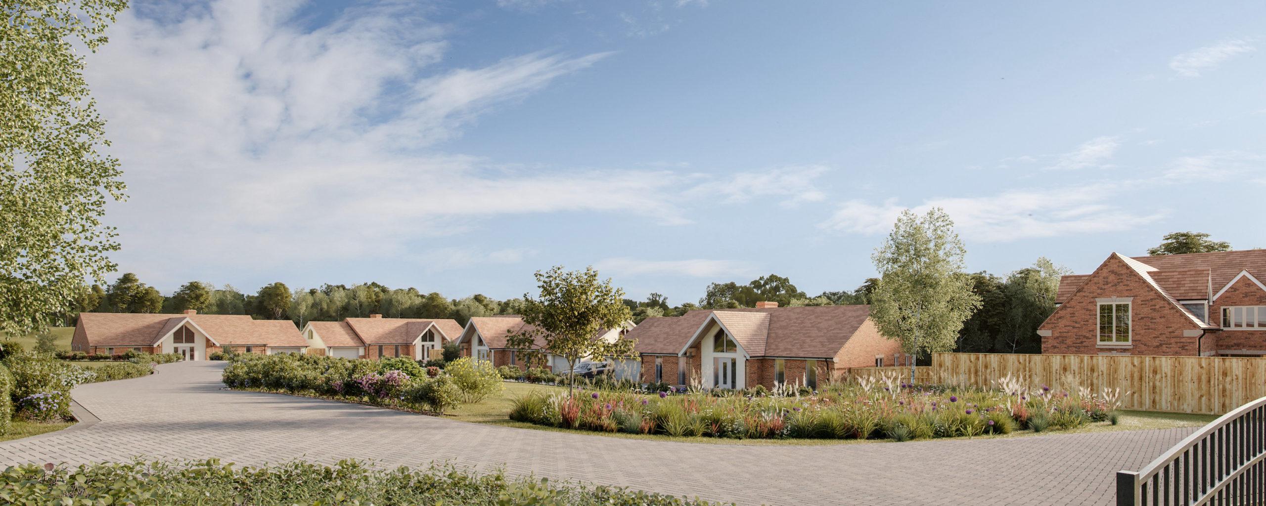Luxury development for award-winning housebuilder