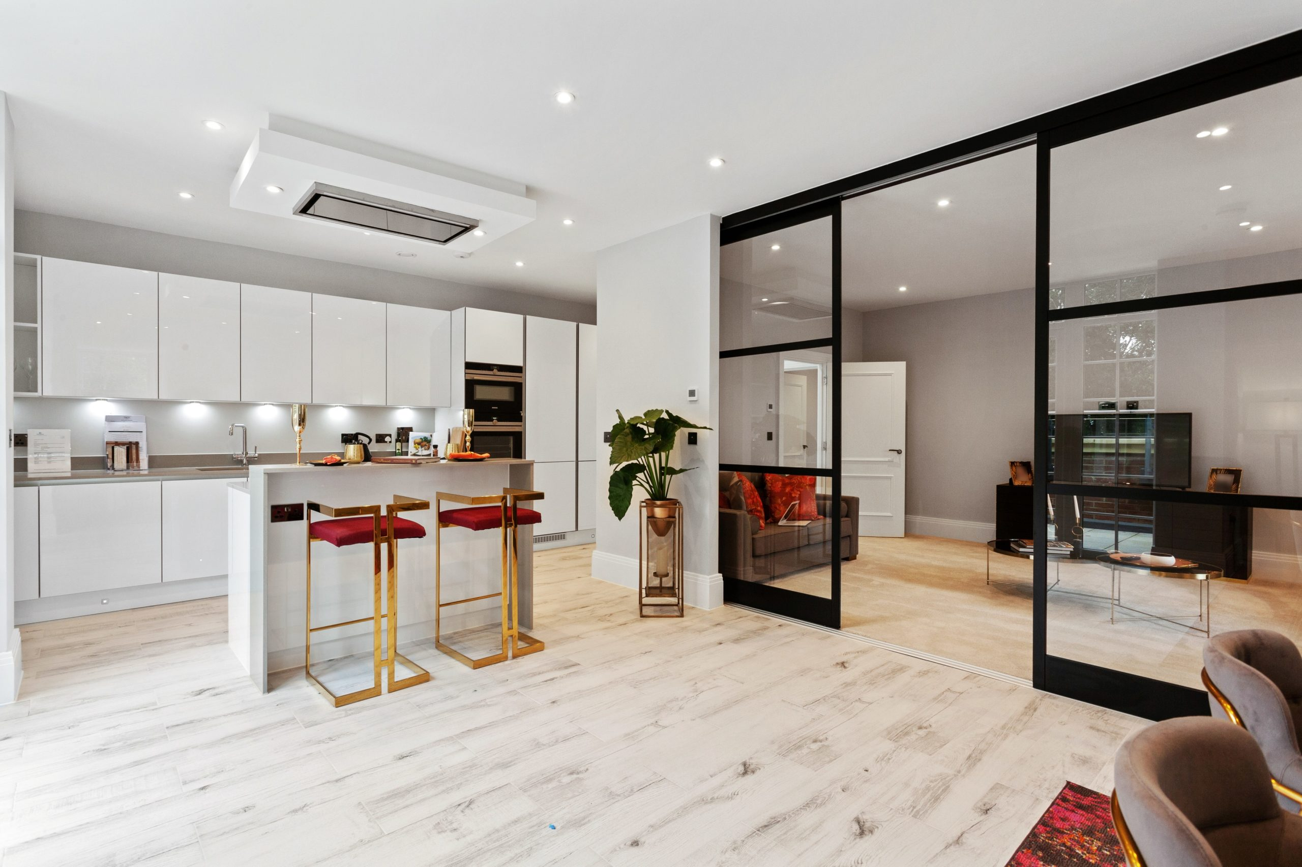 Dividers and wardrobes from Draks star in new Troy Homes apartments
